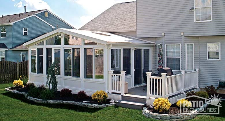 What s the difference between a sunroom vs room addition for Solarium room additions