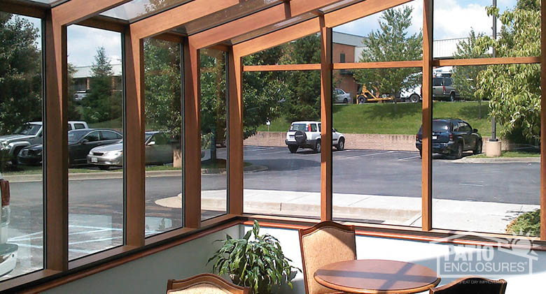 Restaurant patio enclosures  Commercial Sunroom Pictures | Patio Enclosures