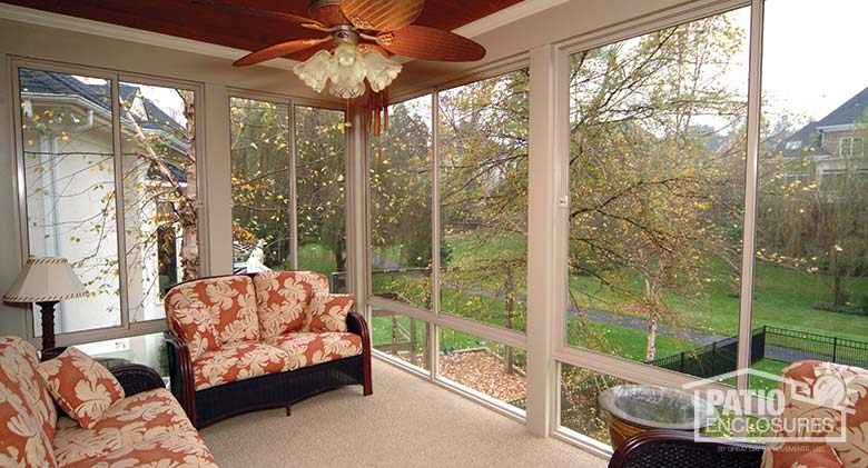 Screened In Porch Ideas Design image of screen porch designs picture Sandstone Aluminum Frame Screen Room With Custom Wood Roof