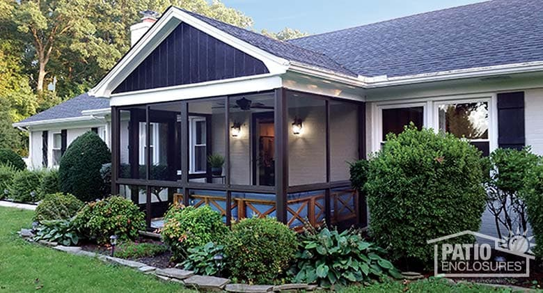 How To Convert A Deck Screened Porch