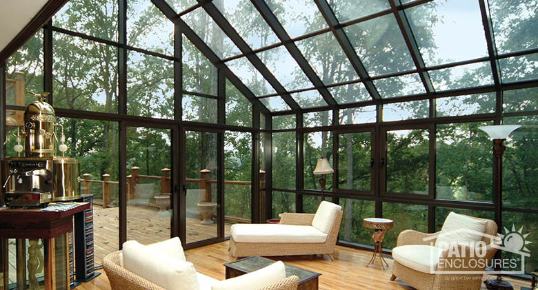 Glass Room Addition Ideas, Designs & Decorations | Patio Enclosures