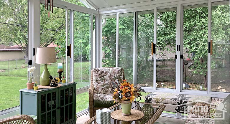 marvelous Sunroom Interior Decorating Part - 14: Three Season Room