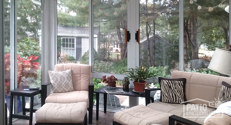 design your sunroom for leisure