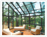 Entertaining in your sunroom - create intimate seating