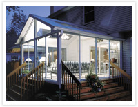 Patio Enclosures Sun Room - Light your Room for Evening Entertaining