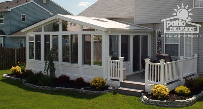Top five sunroom plans for Backyard sunroom