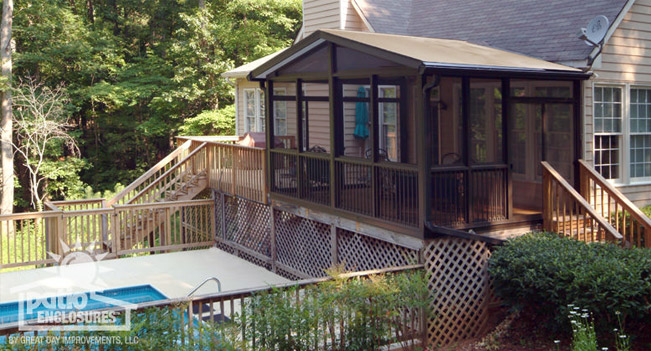 Convert Deck To Screened Porch