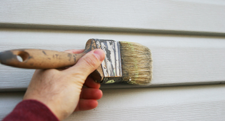 Painting your siding