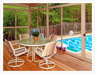 Screened-In Porch - How to Keep Bugs Away - -
