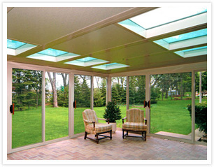 Keep the bugs away with a screened-in porch