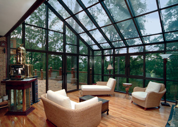 Sunrooms With Gl Roofs Photos