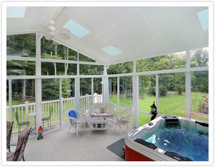 Spa Amp Hot Tub Enclosure Ideas