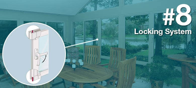 Sunroom Terms - Locking System