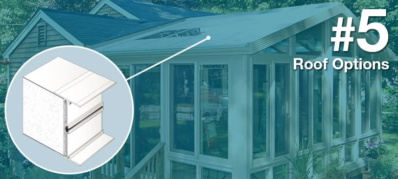 Sunroom Terms - Roofing Options