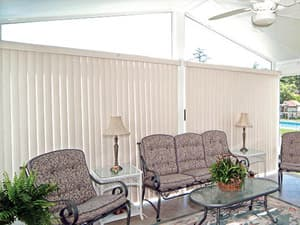 Vertical Blinds For Sunrooms