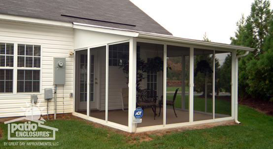 Screened-In Porch Ideas, Designs & Decorations - www ... on Patio Enclosures Ideas  id=89117