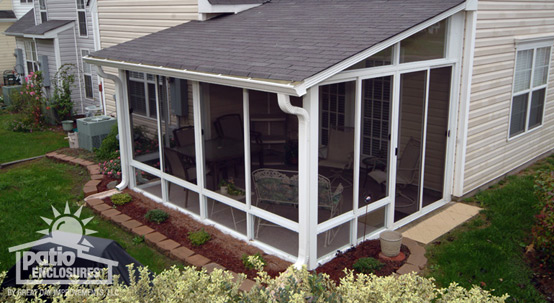 Screened in porch ideas designs decorations www for Sunroom and patio designs