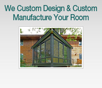 Patio Enclosures - Custom design & custom manufacturing