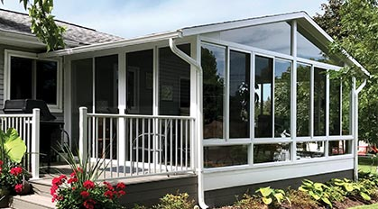 Aluminum Sunroom Picture