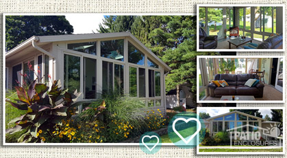 Customer Sunroom Addition Pictures