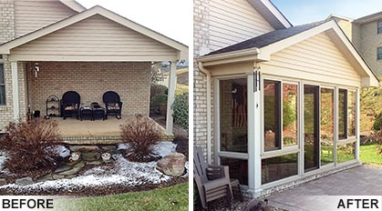 Patio & Porch Conversion Pictures