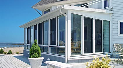 Single-slope Roof Sunroom Photos