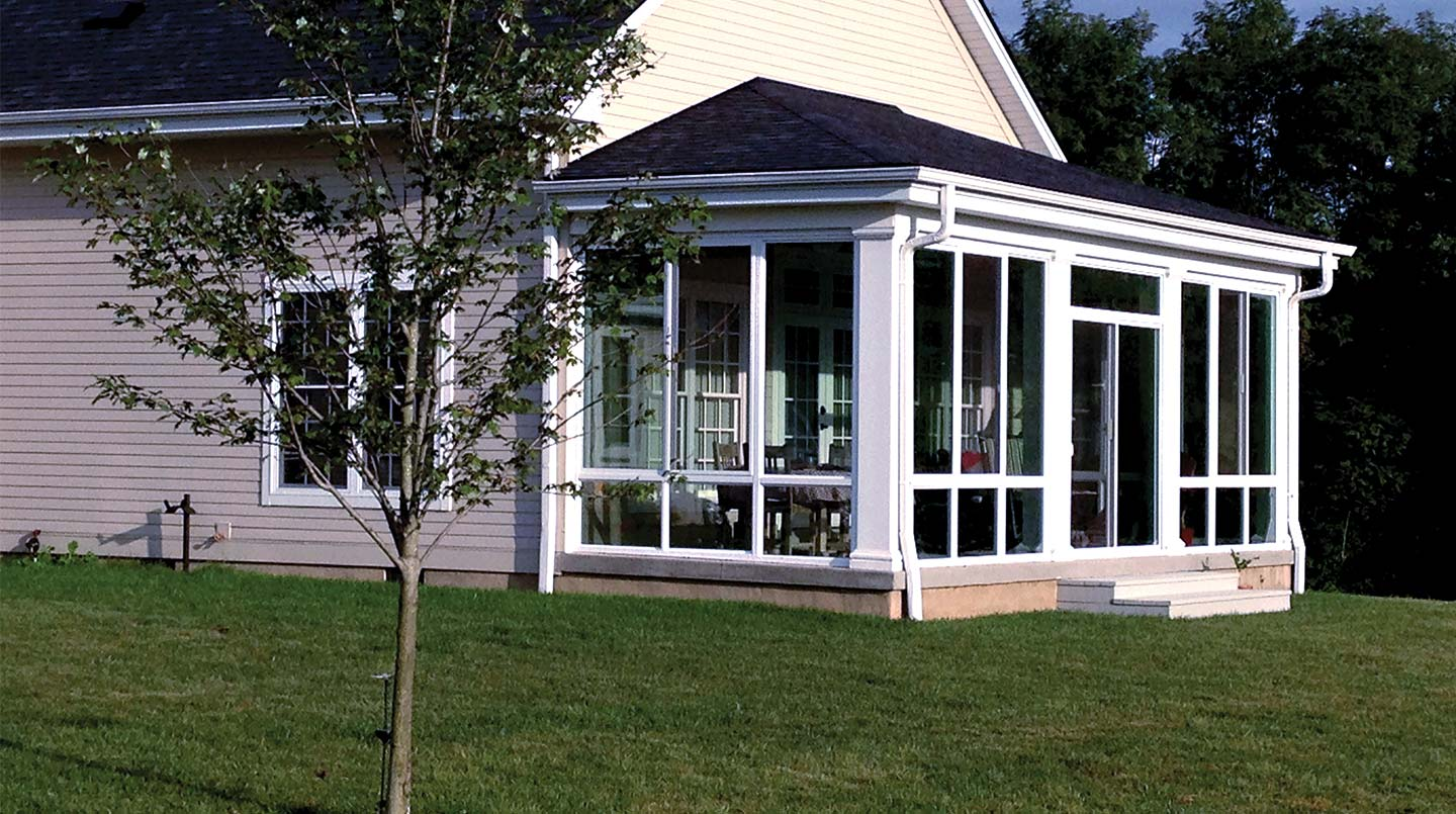 100 sunrooms additions porch enclosure kit architecture for Modular sunrooms