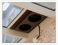 Patio Enclosures Solarium Roof Vent Fan