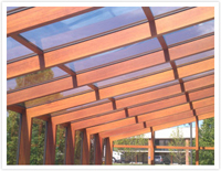 Wood Grain Aluminum Glazing Bars Picture