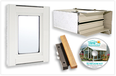 EasyRoom Sunroom Sample Kit
