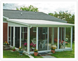 Single-slope roof Sunroom Kit