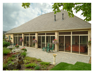 Existing Roof Sunroom Picture