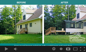 Home Additions – Before and After