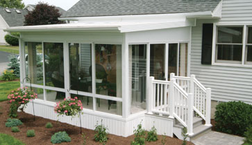 Sunrooms three season rooms solariums screen rooms Mobile home addition kits
