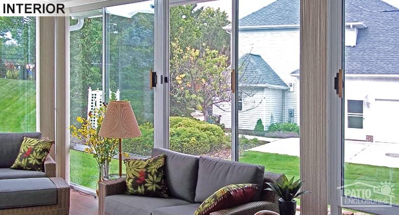Cleveland 3 Season Sunroom Gabled Roof Patio Enclosures