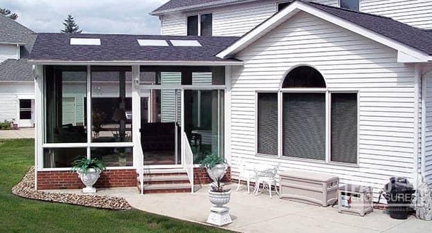 Cleveland 3 Season Sunroom, Gabled Roof | Patio Enclosures