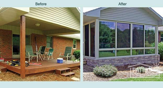 Sunrooms Solariums And Screen Rooms Louisville Patio Enclosures