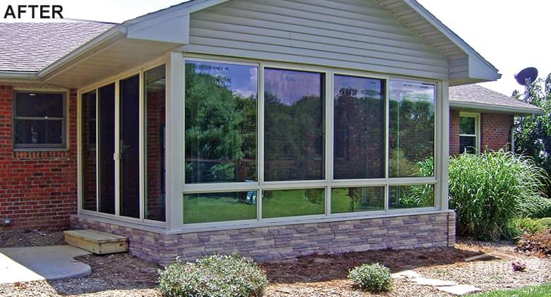 Louisville Year Round Sunroom Patio Enclosures