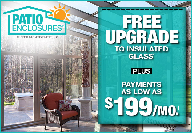 Free Upgrade to Insulated Glass