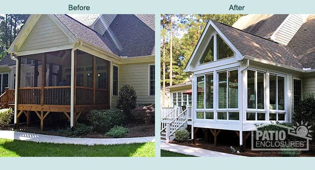 Sunrooms, Solariums And Screen Rooms Raleigh