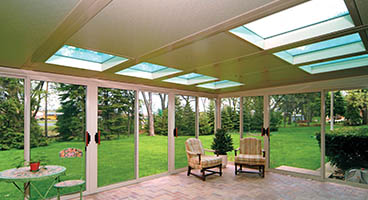 Three Season Sunroom Roof Options Glass Roof