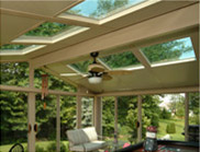 Patio Enclosures Exclusive Glass Roof Panels - Windows for your Sunroom Roof
