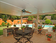 Patio Enclosures offers Patio Covers for Decks, Patios and Porches