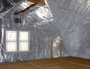 Patio Enclosures - eShield Attic Radiant Barrier