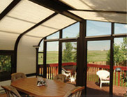 Patio Enclosures - Symphony Soprano Insulating Celluar Shades