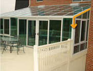 Patio Enclosures Double_Pane Insulated Glass with Super Spacer