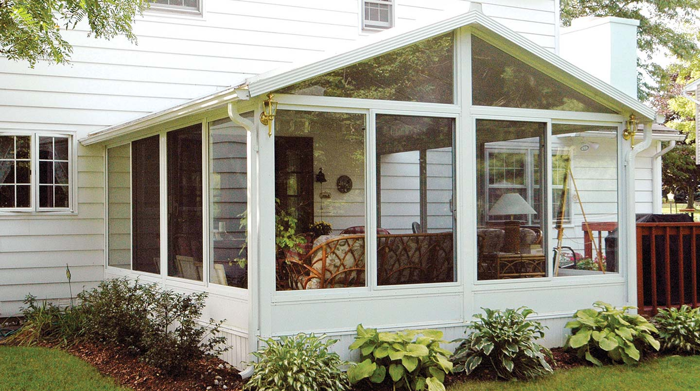 sunroom pictures, sun room photos & sunroom ideas | patio enclosures - Closed In Patio Designs
