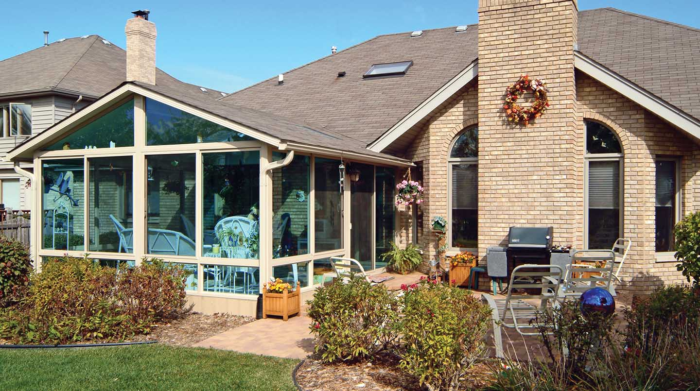 Pictures of Exterior Sunrooms