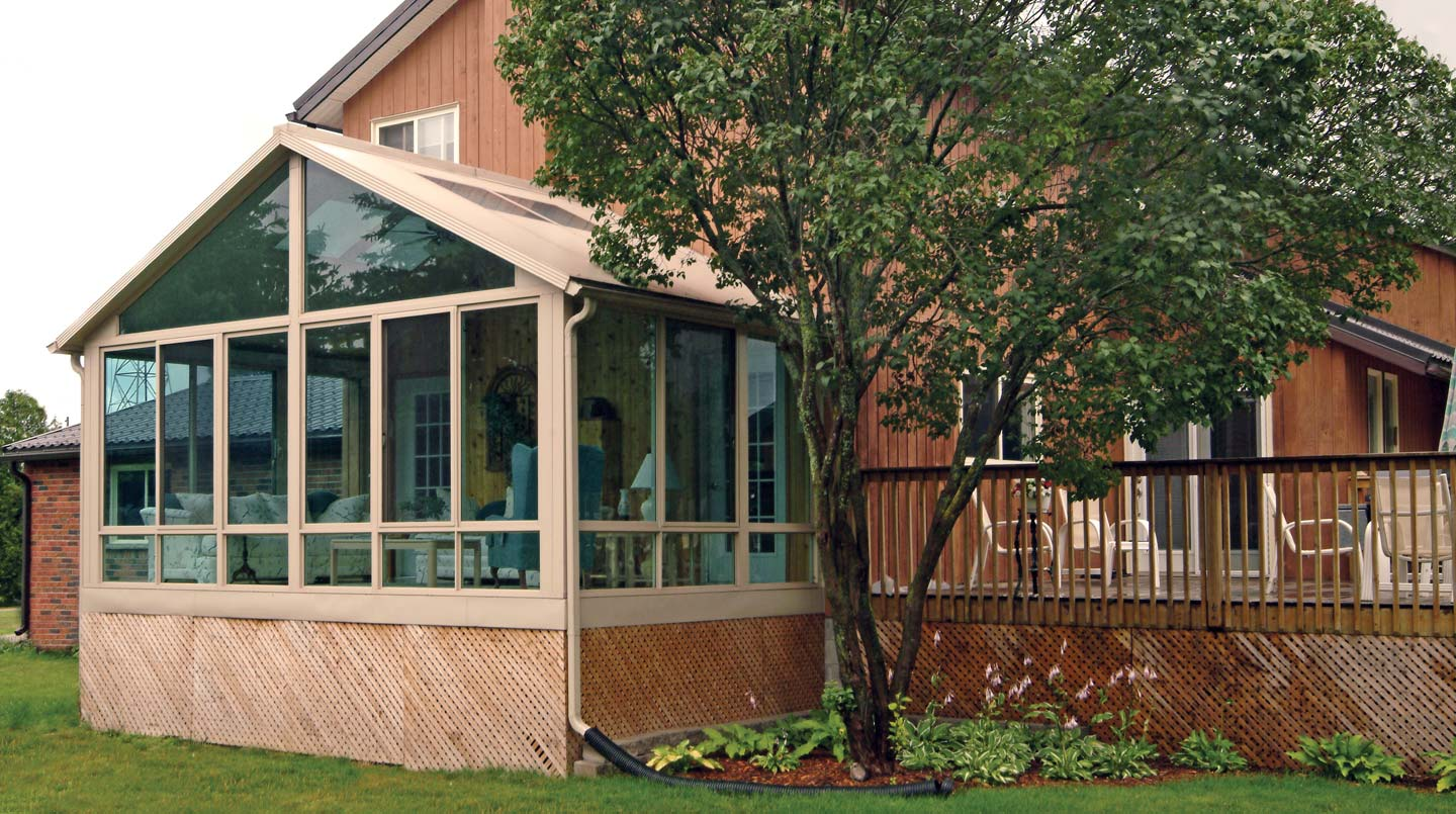 Sunrooms With Gable Roofs Photo Gallery Patio Enclosures