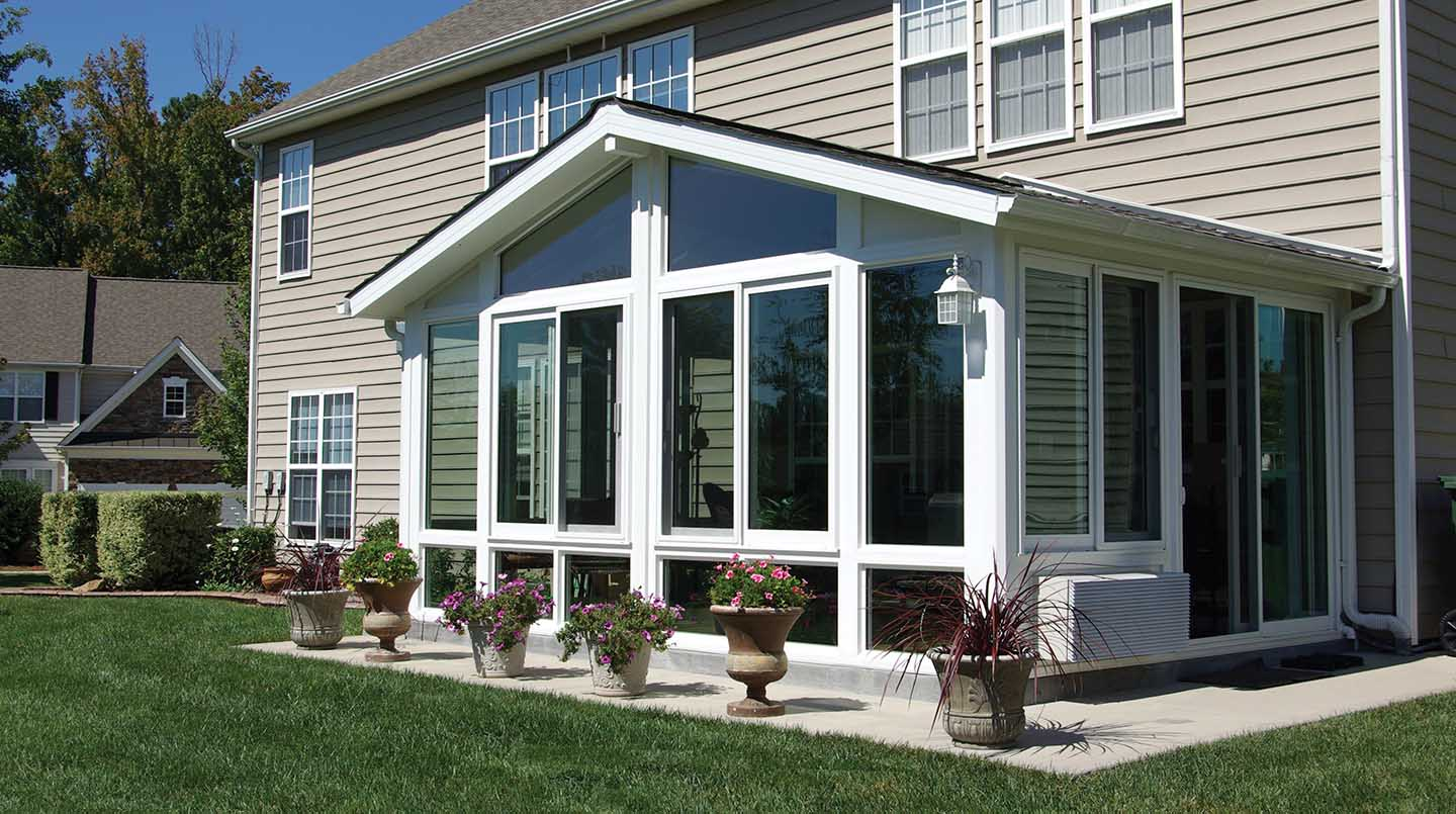 Custom Sunrooms Cut Glass Safety Glass Patio